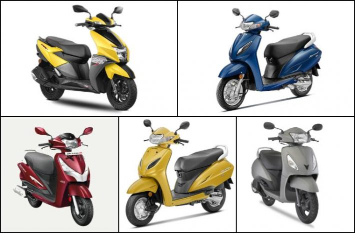 top 10 scooters india