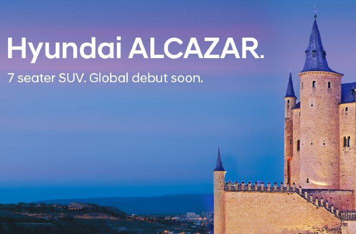 Hyundai Alcazar 7-Seater SUV Debut Details Revealed