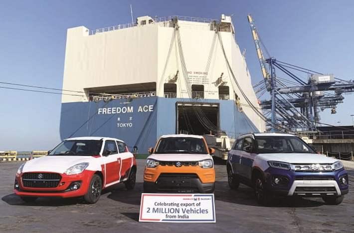 maruti suzuki vehicle export
