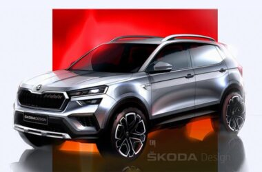 Skoda Kushaq Design Sketches Officially Revealed Before Launch