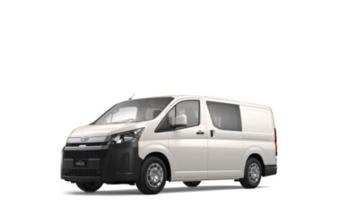 Toyota Hiace Introduced In India At Rs. 55 Lakh