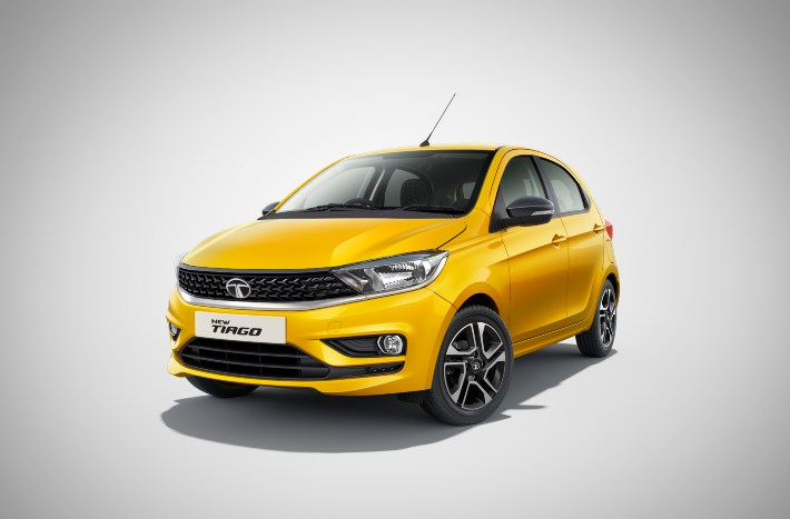 tata tiago victory yellow colour