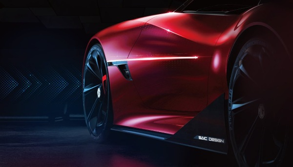 MG Cyberster EV Concept Teased Ahead Of Launch