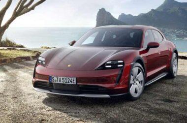 Porsche Taycan Cross Turismo EV Unveiled