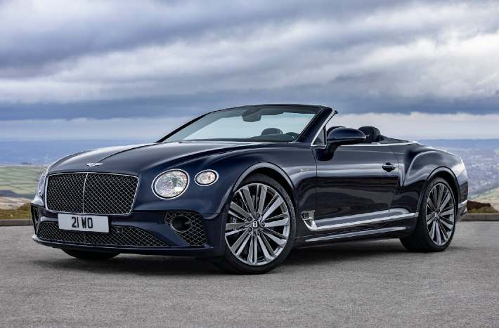 Bentley Continental GT Speed Convertible Revealed; Gets the Same Engine As Coupé