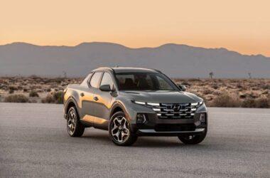 Tuscon Inspired Hyundai Santa Cruz Pickup Truck Revealed