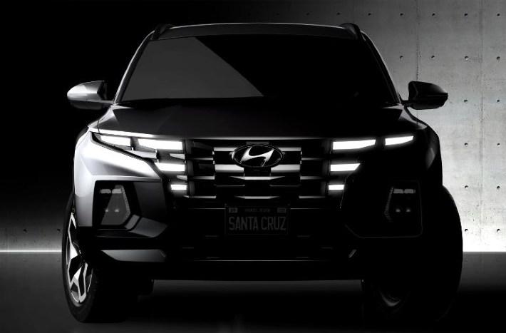 2021 Hyundai Santa Cruz Pick-Up Truck Teased Ahead Of Global Launch