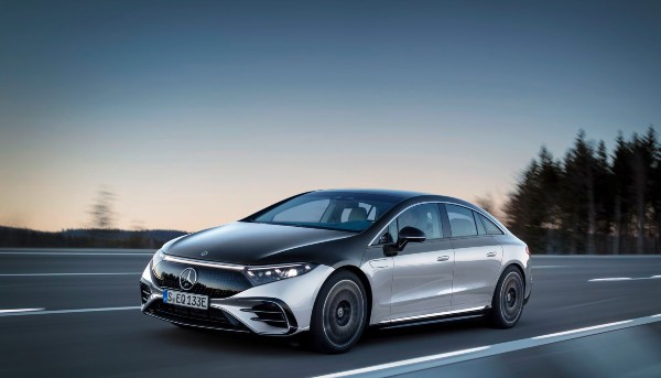 All-New Electric Mercedes-Benz EQS Revealed