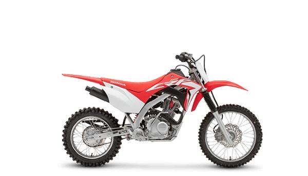 2021 honda crf125f red colour