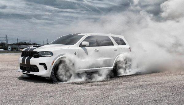 2022 dodge durango burnout