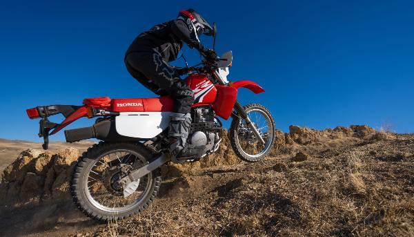 honda xr650l dirt riding