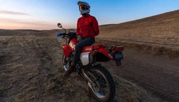 honda xr650l rider