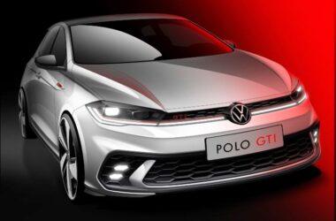 2021 Volkswagen Polo GTI Facelift Sketch Revealed Ahead of Debut In June