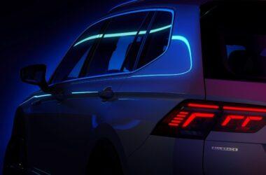 Volkswagen Tiguan Allspace Facelift Teased Ahead Of Global Debut On May 12